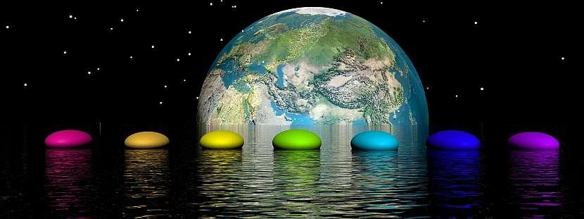 Svět, voda, barvy