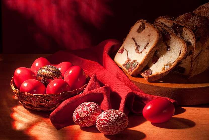 Červená vejce