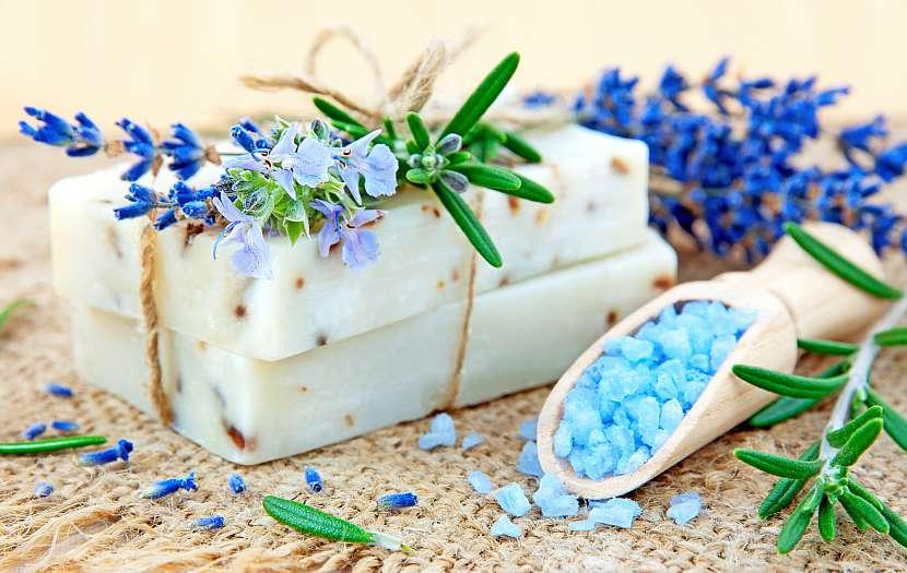 Mýdlo, krystaly