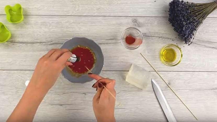 Domácí mýdlo s levandulovou vůní 3
