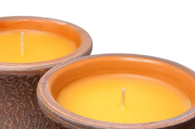 Citronelová svíčka