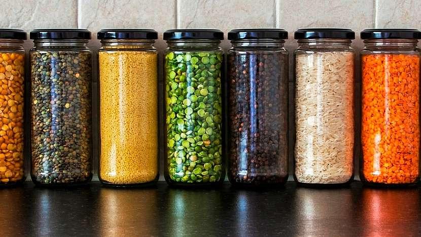 Tipy na recyklaci skla: dózy na trvanlivé potraviny