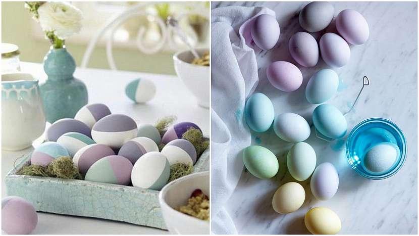 Velikonoce vpastelových barvách: krása jednoduchosti