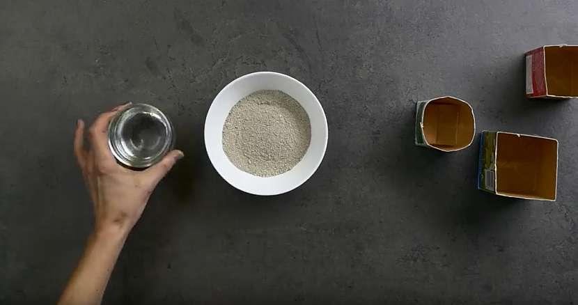 Designové květináčky z cementu: připravte si cement