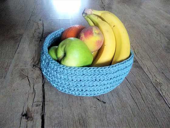 Uháčkujte si s námi ošatku na ovoce (Zdroj: Lenka Tajbrová)