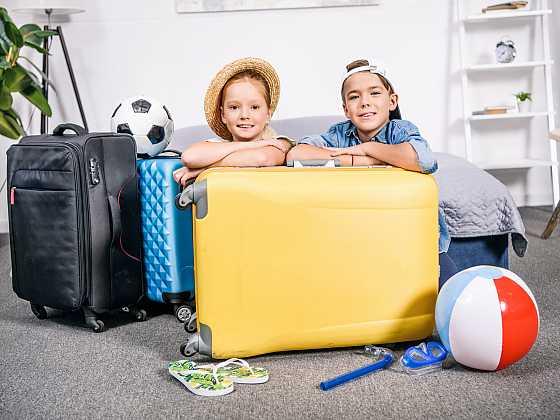 Jak na začátku prázdnin zabavit děti? (Zdroj: Depositphotos)