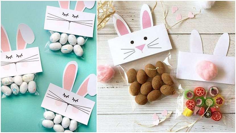 Velikonoce zpapíru: dárkové balíčky