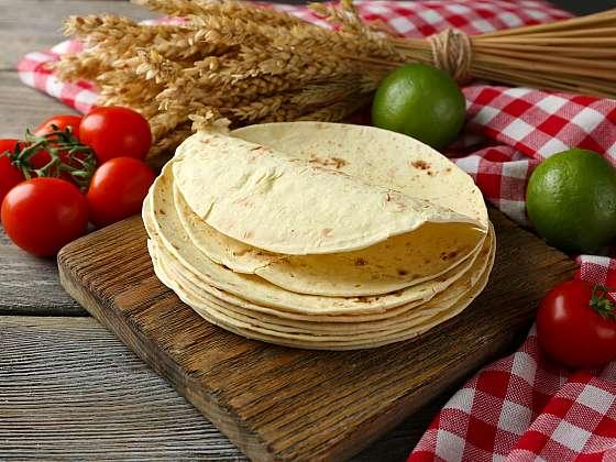 Na tortillách si nyní můžete pochutnat i v případě, kdy držíte bezlepkovou nebo redukční dietu (Zdroj: Depositphotos (https://cz.depositphotos.com))