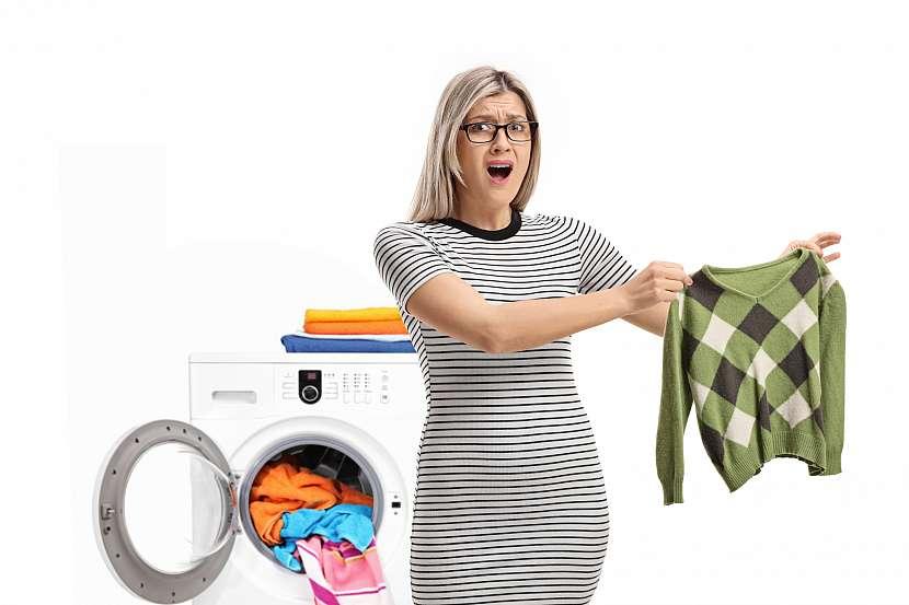 K zmenšení oblečení obvykle dochází neplánovaně, kdy se oblečení promění na velmi malé