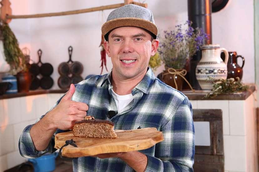 Ořechový koláč od Ládi Hrušky