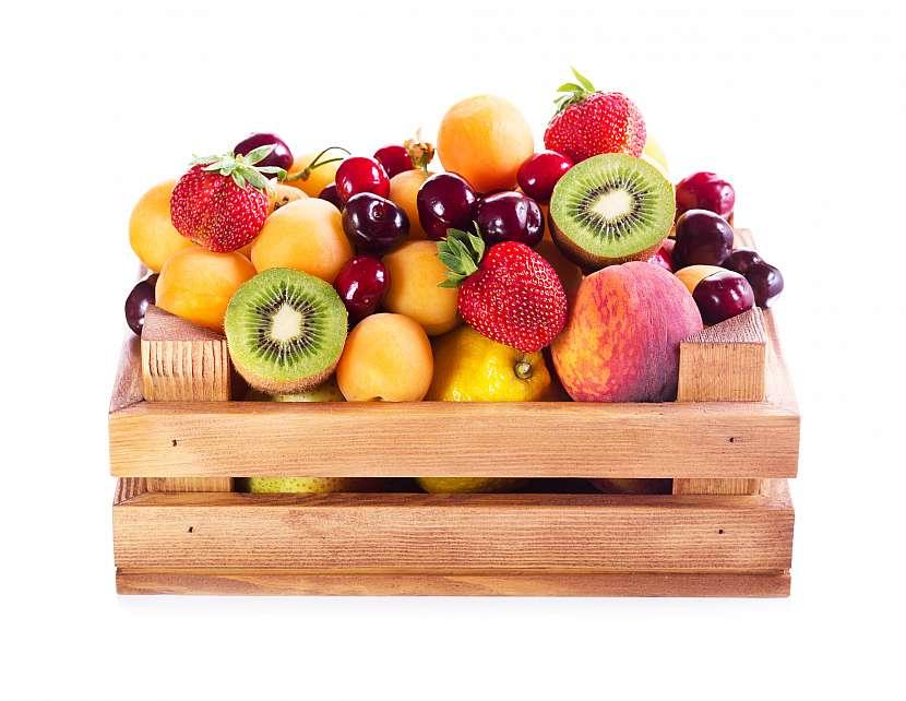 Ovoce v bedýnce