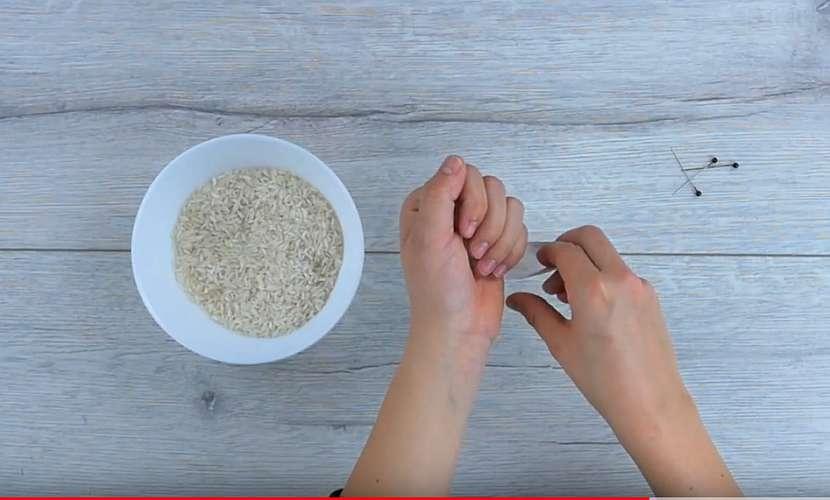 Nasypte rýži