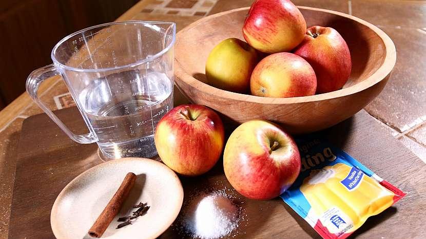 Zmrazená ovocná dřeň: suroviny