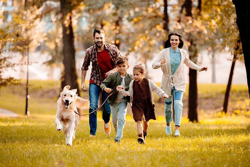 Rodina běží