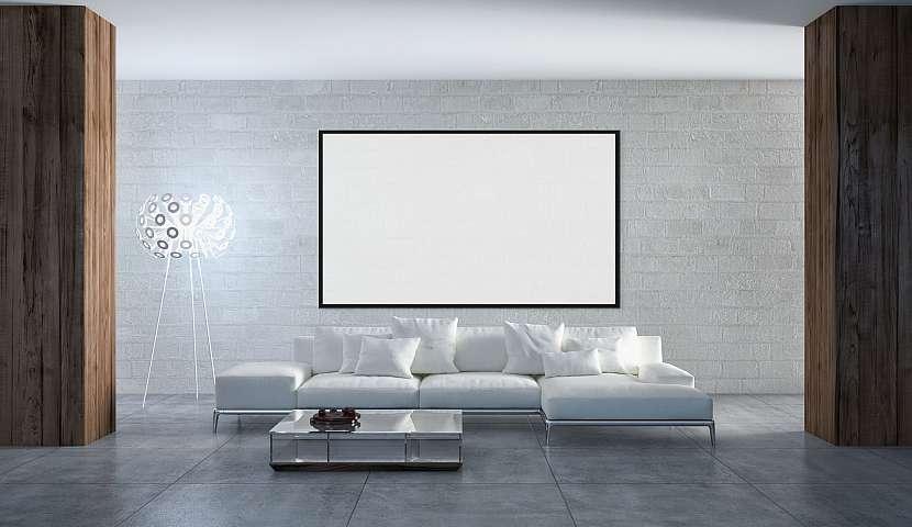 Obývací pokoj s luxusními prvky
