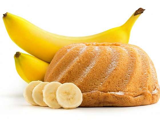 Bábovka z banánového těsta je jemnější a lahodnější než běžná třená klasika (Zdroj: Depositphotos (https://cz.depositphotos.com))