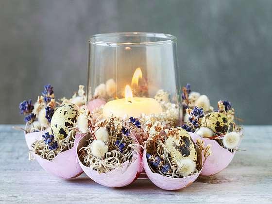 Ze skořápek si můžeme vyrobit dekoraci nebo dokonce svícen (Zdroj: Depositphotos)