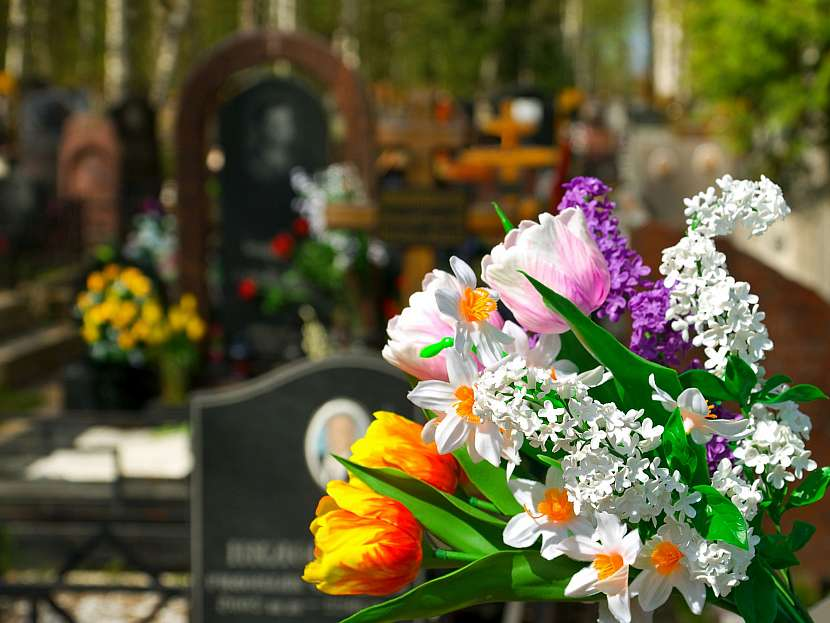 Kytice na hrob
