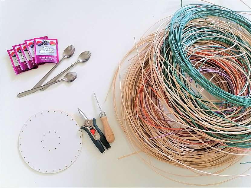 Materiál pro pletení