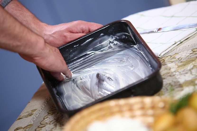 Vymazání pekáčku