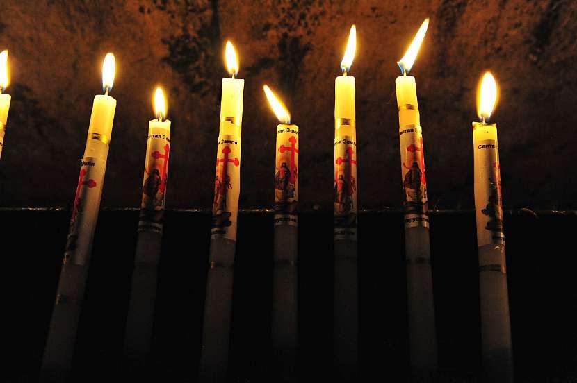 Svíčky z Jeruzaléma