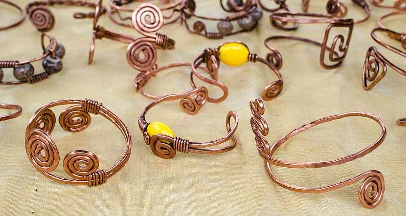 Měděné šperky