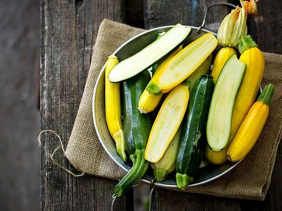 Zelené a žluté cukety – královny české kuchyně, vyzkoušejte naše 4 recepty (Zdroj: Depositphotos (https://cz.depositphotos.com))