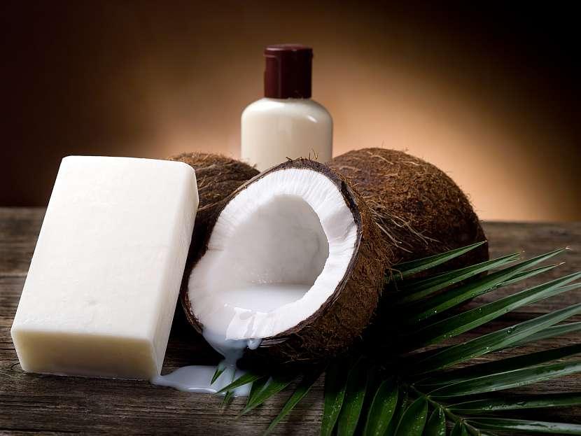 Kokosové mýdlo, kokos