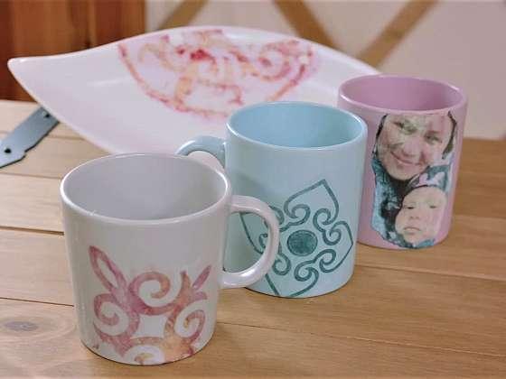 Ozdobte si porcelán obrázkem dle vašeho výběru. Poradíme, jak na jeho transfer (Zdroj: Prima DOMA MEDIA, s.r.o.)