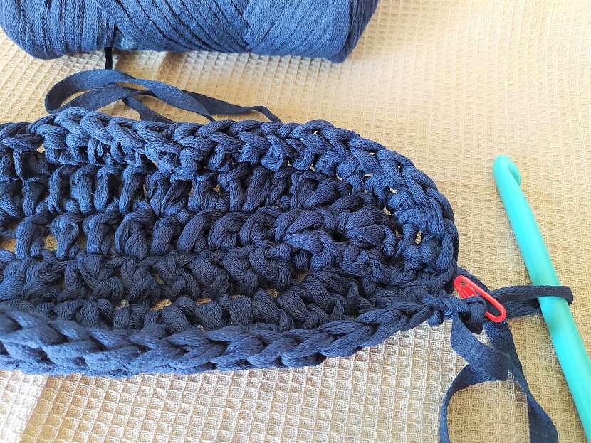 Háčkování tašky