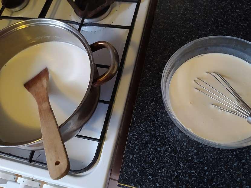 Vaření mléka