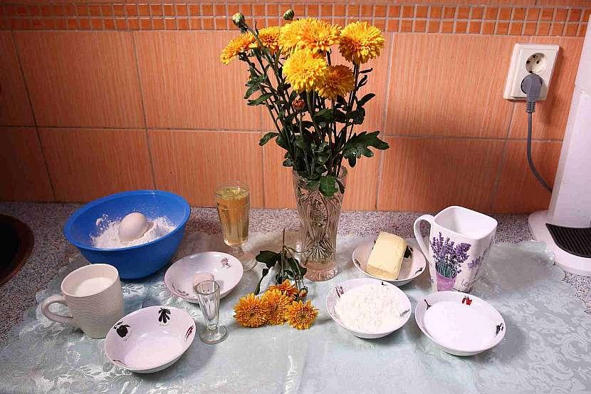 Suroviny na výrobu pudinkáčů