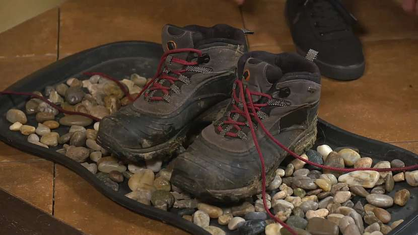 Boty na odkapávači