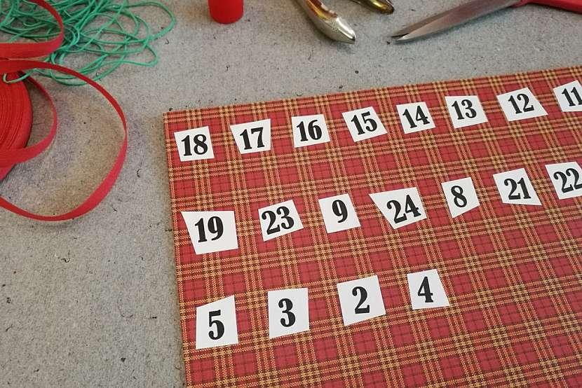 Adventní kalendář pro tatínka: připravte si kartičky