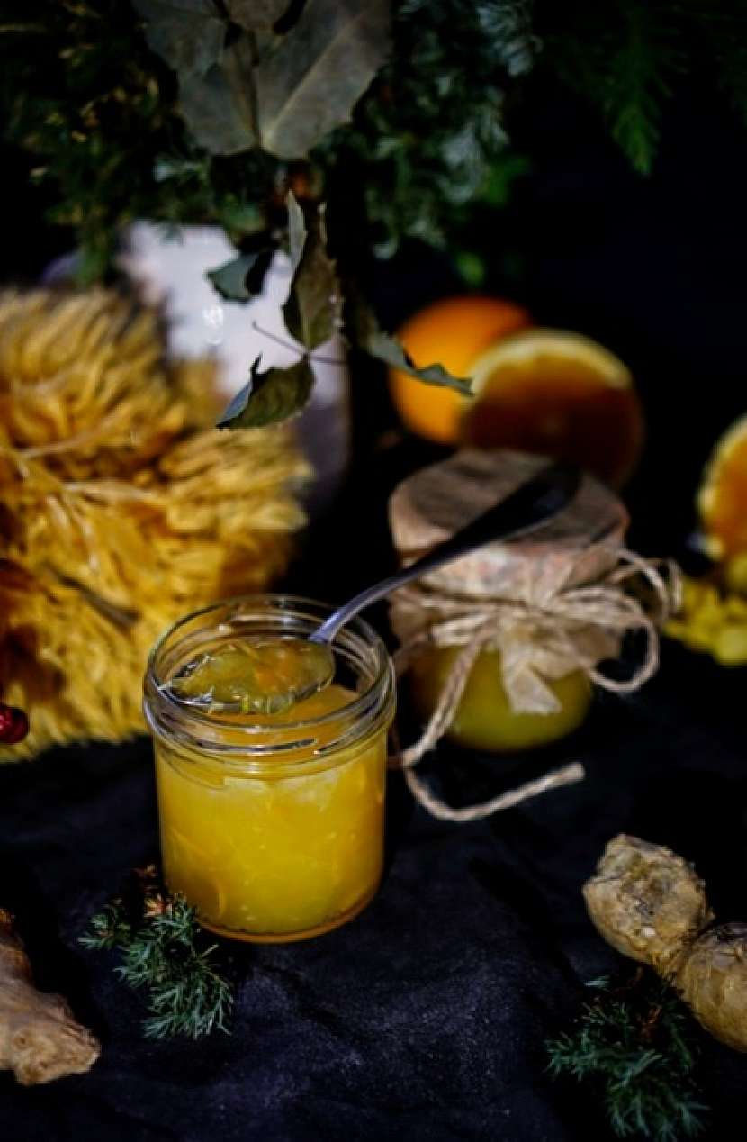 Zázvorové želé s pomerančem povýší chuťový zážitek na malou oslavu