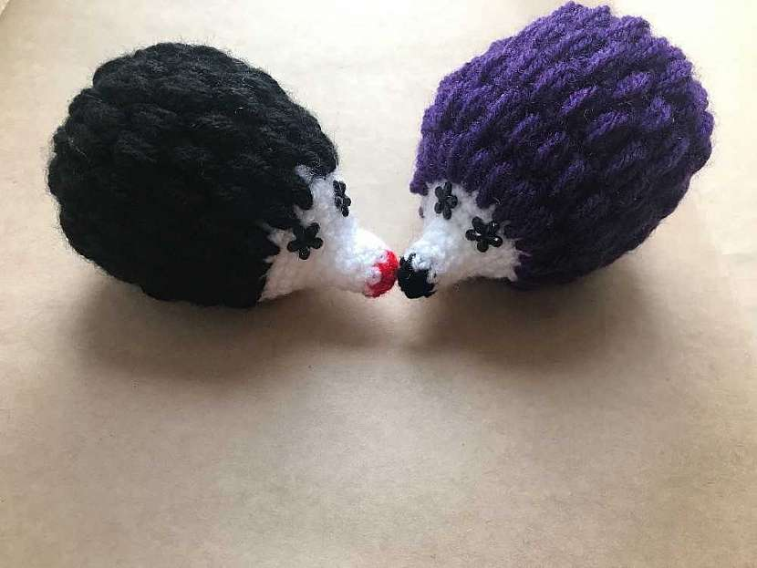 Háčkovaný ježek