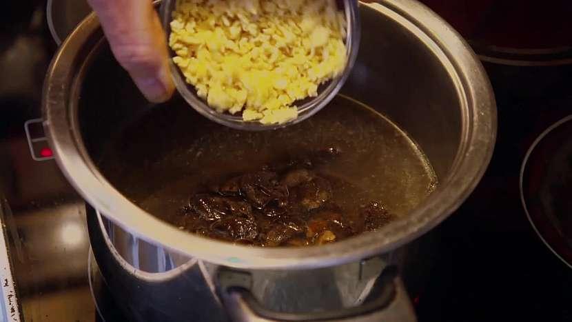 Drobení do polévky