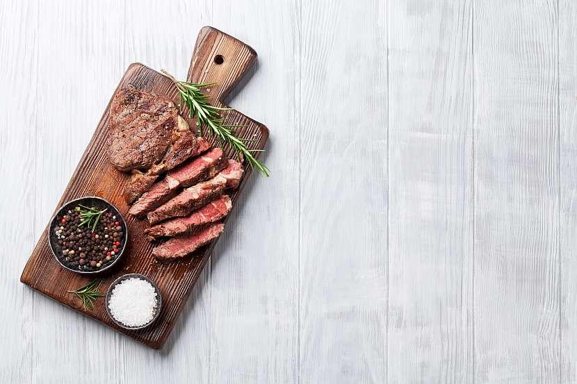 Nakrájené maso