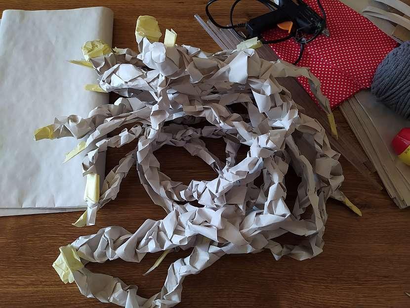 Papírové copánky