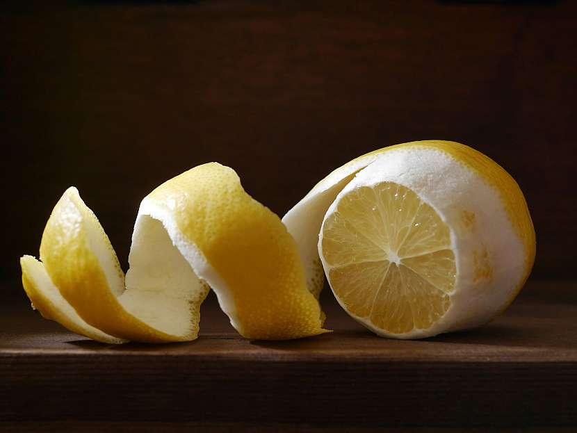 Slupka z citronu