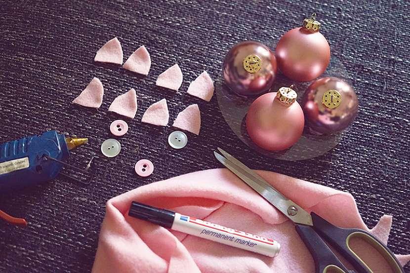 Novoroční prasátka: co budete potřebovat
