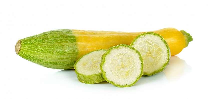 Žlutozelená cuketa