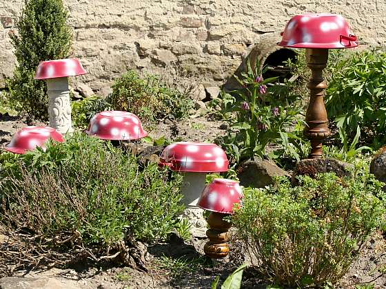 Vyrobte si muchomůrku, veselou zahradní dekoraci (Zdroj: Archiv FTV Prima, se svolením FTV Prima)