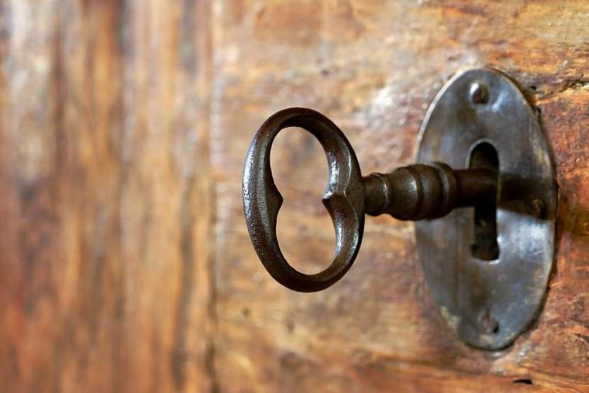 Klíč a zámek