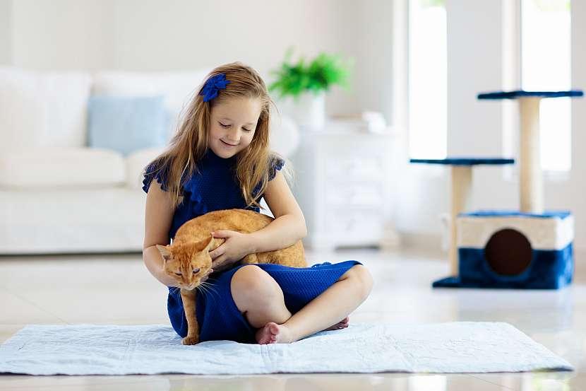 Dívka s kočkou