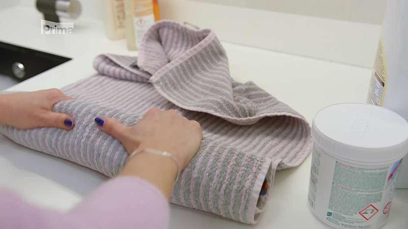 Ždímání v ručníku