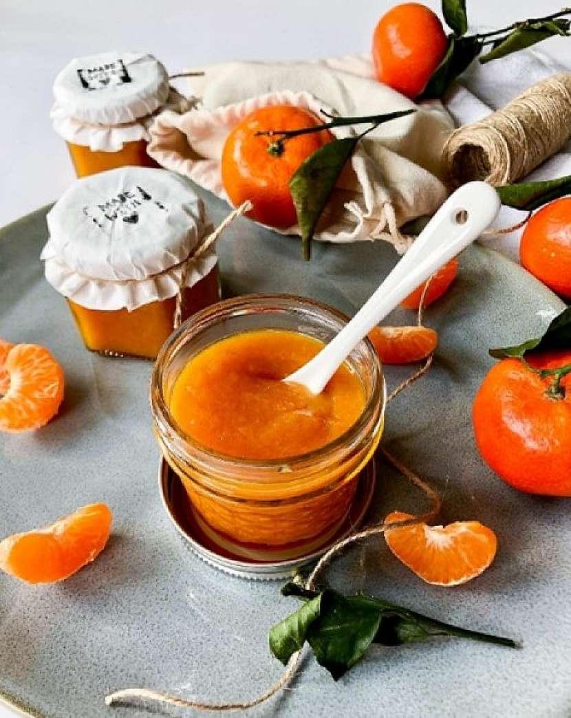 Mandarinkovou marmeládu zahustíte Ovocným (citrusovým) pektinem Labeta