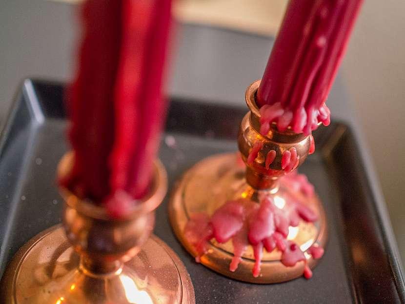 Vosk ze svíček