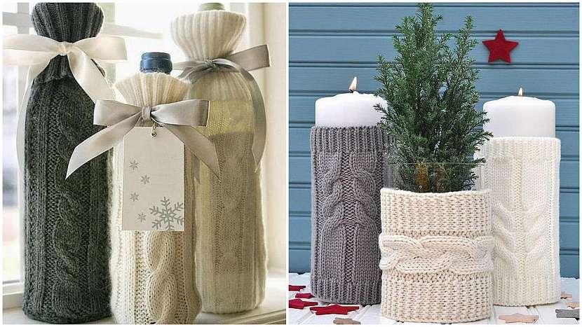 Recyklované Vánoce: Obaly z rukávů