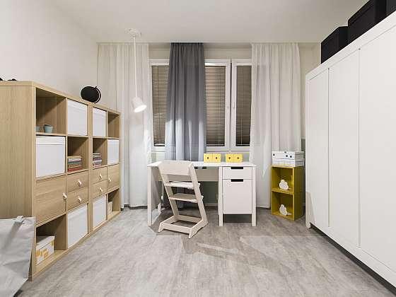 Pokojíček pro Kristýnku byl uzpůsoben k jejím potřebám budoucí školačky (Zdroj: FTV Prima)